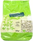 Health Store Organic Rye Flakes 500 g (Pack of 6)