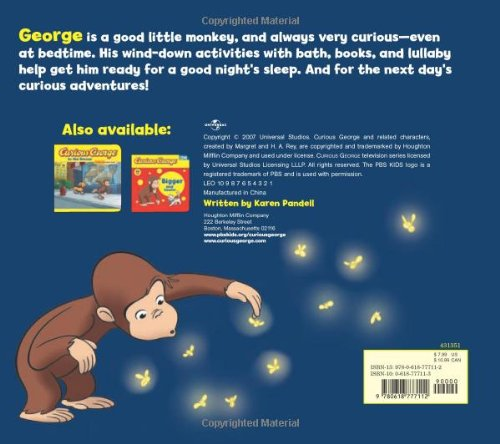Image of Curious George Good Night Book: A Tabbed Board Book (Curious George Board Books)