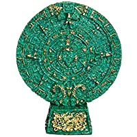 Discount Etnico - Calendario Maya Con Base Misura D.14 x 17 cm - Calendario Maya