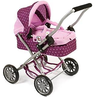 Bayer Puppenwagen Lila - Design Kinderpuppenwagen Puppen Baby Kinderwagen Born