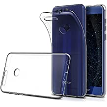 "Funda Huawei Honor 8 5.2"" ( Pack of 2),Simpeak Carcasa Huawei Honor 8 Silicona TPU Transparente ,Cover Honor 8, Funda Honor 8,Carcasa Honor 8,Cover Huawei Honor 8"