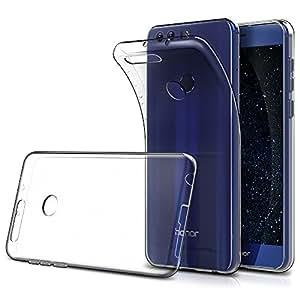 Cover Huawei Honor 8 (Confezione da 2), Simpeak Custodia Chiaro Cristallo Liquid Crystal Estremamente Sottile & Puro Trasparente - Custodia Huawei Honor 8, Cover Honor 8, Custodia Honor 8