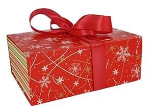 Maildor 211373C Boîte Pliée Grande 31 x 25 x 12,5 cm Noël Lumineux