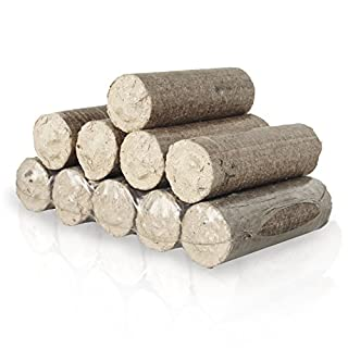PALIGO Nestro Holzbriketts Hartholz Eiche Kamin Ofen Brenn Holz Heiz Brikett 6kg x 4 Gebinde 24kg / 1 Karton HEIZFUXX®