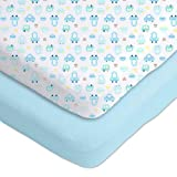 Best GERBER Beddings - Gerber 2 Pack Cotton Knit Fitted Crib Sheets Review