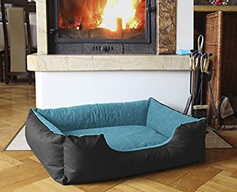 BedDog LUPI ,55x40 cm(21x15 inch),24 colours to choose, Bed for a dog S till XL, pillow for a dog, sofa for a dog, basket for a dog,
