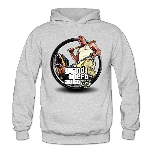 Sconosciuto Marc Donna Grand Theft Auto V Felpa Ash