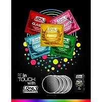 One Touch Kondome TREND MIX Extra Dünn - Erdbeer Kondome - Gerippt und Genoppt - Klassisch 10 Stück preisvergleich bei billige-tabletten.eu