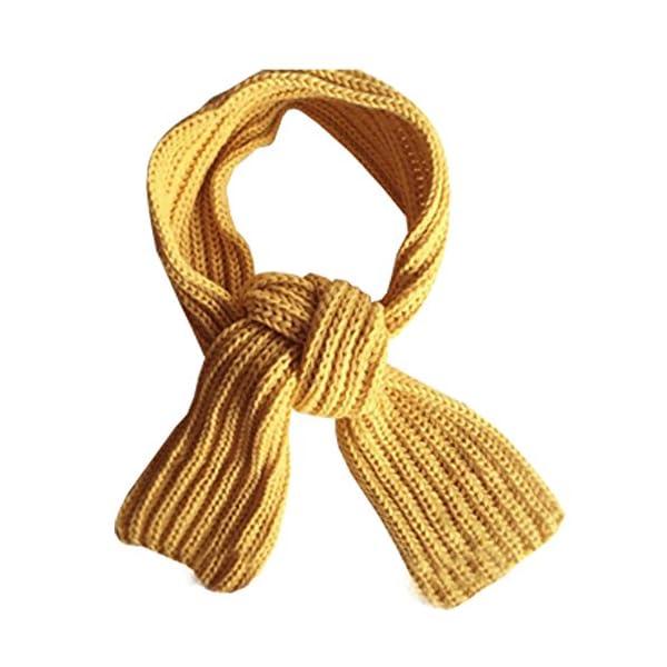 KINDOYO Bufanda de los niños, precioso otoño invierno chicos niñas bebé niño bufanda sólida caliente bufandas de punto… 1
