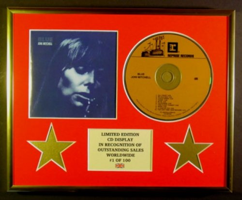 Price comparison product image JONI MITCHELL/CD DISPLAY/LIMITED EDITION/COA/BLUE