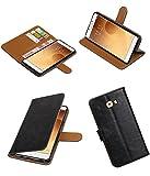 Mobile Fashion Pull-up Samsung Galaxy C9 Brieftasche Fall Deckung Booktyp mit Kartensteckplätze und Stand