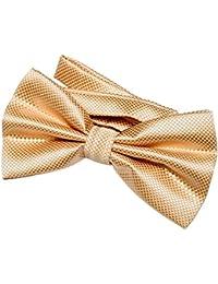 DonDon Noeud papillon pour homme 12 x 6 cm avec crochet déjà lié ... 3fcc05b1644
