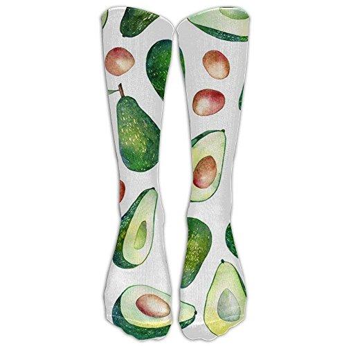 NEW Fresh Avocado Athletic Tube Stockings Women's Men's Classics Knee High Socks Sport Long Sock One Size -