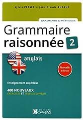 estimation pour le livre Grammaire Raisonnee 2 - Anglais