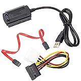 Wallfire 3 IN 1 USB 2.0 zu IDE SATA ATA 2.5 3.5 Kabel für den Kabelanschluss des Festplattenlaufwerks