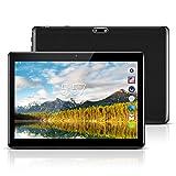 Kivors 10,1 Zoll Android Tablet PC ,Quad Core Prozessor Phablet 2G RAM 32G Speicher Dual Kamera 2MP/5MP 1280x800 IPS Touchscreen Dual-SIM Slots 3G Entsperrt Telefonfunktion WiFi Bluetooth 4,0 GPS