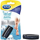 Scholl - Rouleaux Velvet Smooth Grain Extra Exfoliant aux Cristaux de Diamants