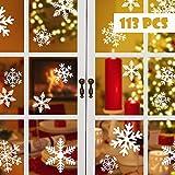 Blooven 113 Schneeflocken Fensterbild für Win...Vergleich