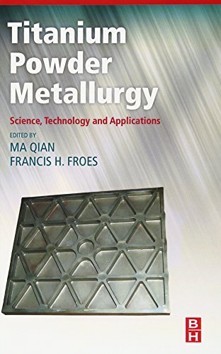 Titanium Powder Metallurgy: Science, Technology and Applications Am Binder