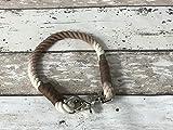 Tau-Halsband Größe 34-36cm Braun