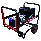 Motores Campeón GH7000T Generador Eléctrico Campeón trifásico de 6000 W con Motor Honda, 3000 RPM, 380/220 V, 66 kg