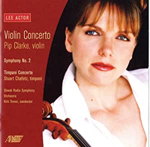 Lee Actor - Violin Concerto
