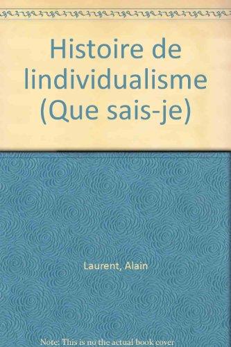 Histoire de l'individualisme