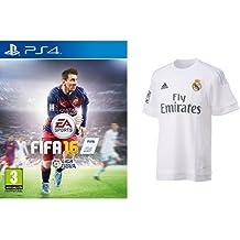 3a3a4969c849e FIFA 16 + Camiseta Oficial Real Madrid 15 16 L