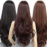 CRIBE Full Head Long Hair Women Wigs Natural Hair Black