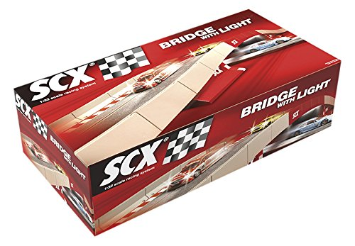 Scx Slot Cars Digital System Bridge with Light