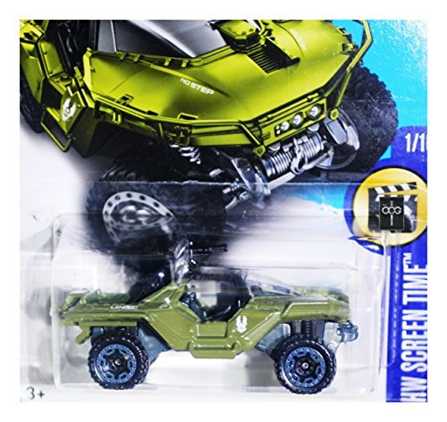 Halo Toys Hot (2017 Hot Wheels - HW Screen Time 1/10 - Halo UNSC Warthog by Hot Wheels)