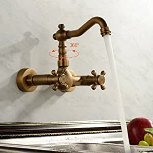 ouku antike inspiriert k chenarmatur wandhalter messing. Black Bedroom Furniture Sets. Home Design Ideas