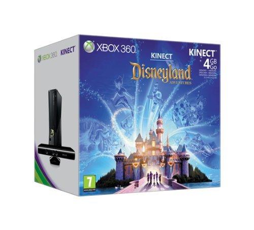 Konsole Xbox 3604GB + Kinect + Kinect Adventures. + Disneyland Adventures + eine Cable HDMI gratis, High-End, Platte Gold