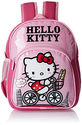 Hello kitty 8901736088909 Nylon 43 Cms Pink Childrens Backpack Mbe ... a297c766e0bfc