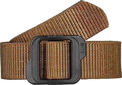 5.11 Double Duty 120 TDU Belt - Coyote/Black, Medium