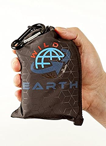 WILD EARTH ultra light weight pocket beach blanket travel mat