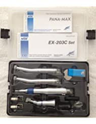 2014 New Brand and Widely Sold Dental Kit NSK Style (EX203C + Pana-Max High Speed) Wrench Type (2 Holes) Sold by TT Dental