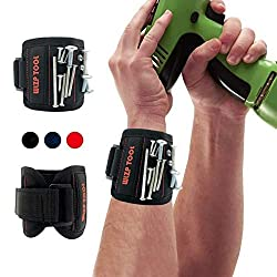 ZEIT SPAREN UND BIETET EINE DRITTE HILFEHANDDas magnetische Armband ist ein notwendiges Werkzeug für den Fachmann und die durchschnittliche Person. Es ist für Hauptverbesserung, Aufbau, Zimmerei, Autoreparatur und viele anderen DIY-Projekte perfekt.E...