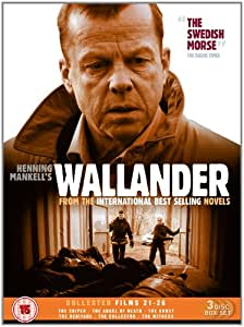 Wallander Collected Films 21-26[DVD] [2010](Two-Disc Set)