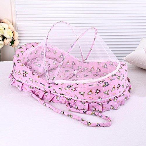 HJXJXJX Baby Moskitonetze, tragbare tragbare Sommer Moskito Hütte mongolischen Deckung Mücke Abdeckung , 85*45*50