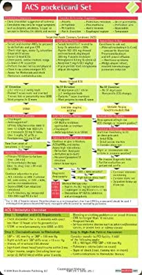 Acute Coronary Syndrome Pocketcard Set For Paramedics