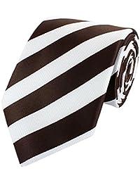Fabio Farini Cravate Noble, 8cm en différentes couleurs mariage Buisness Combinaison Cravates
