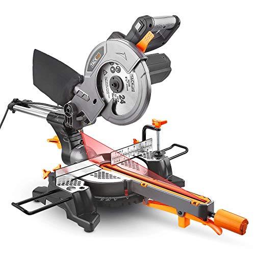 Troncatrice Radiale 1500W Lama Ø 210 TACKLIFE Sega a Trazione con Laser,...