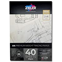 Tracing Paper Pad - 90gsm, 40 Sheets - Premium, High Transparency