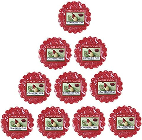 Yankee Candle Cranberry Pear Wax Tarts x10 - New for