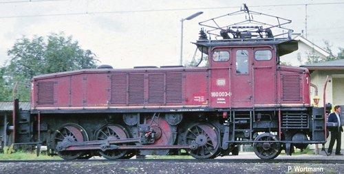 H0 FL E Lok BR 160 rot Verschublok