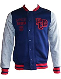 Veste Teddy BARCA - Collection officielle FC Barcelone - Taille L - Homme