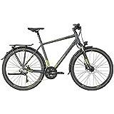 Bergamont Horizon 7.0 Herren Trekking Fahrrad grau/grün 2018: Größe: 48cm (164-170cm)