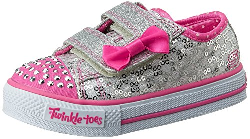 skechers-shuffles-sweet-steps-baskets-mode-fille-argent-slhp-22-eu-taille-fabricant-6-uk