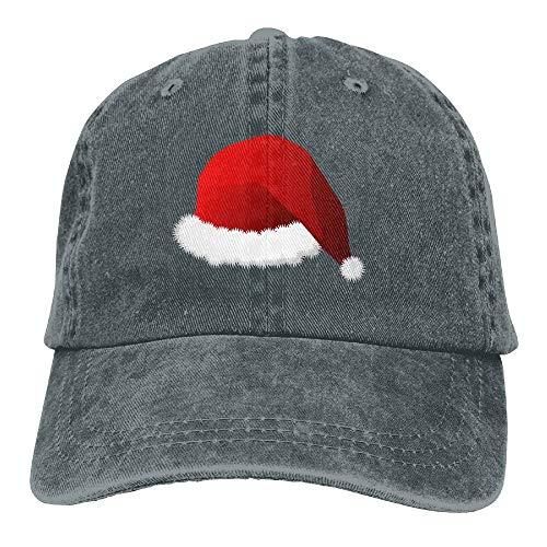 Men&Women Santa Clau Hat Vintage Washed Dyed Cotton Solid Color Baseball Cap One Size Wmu Santa